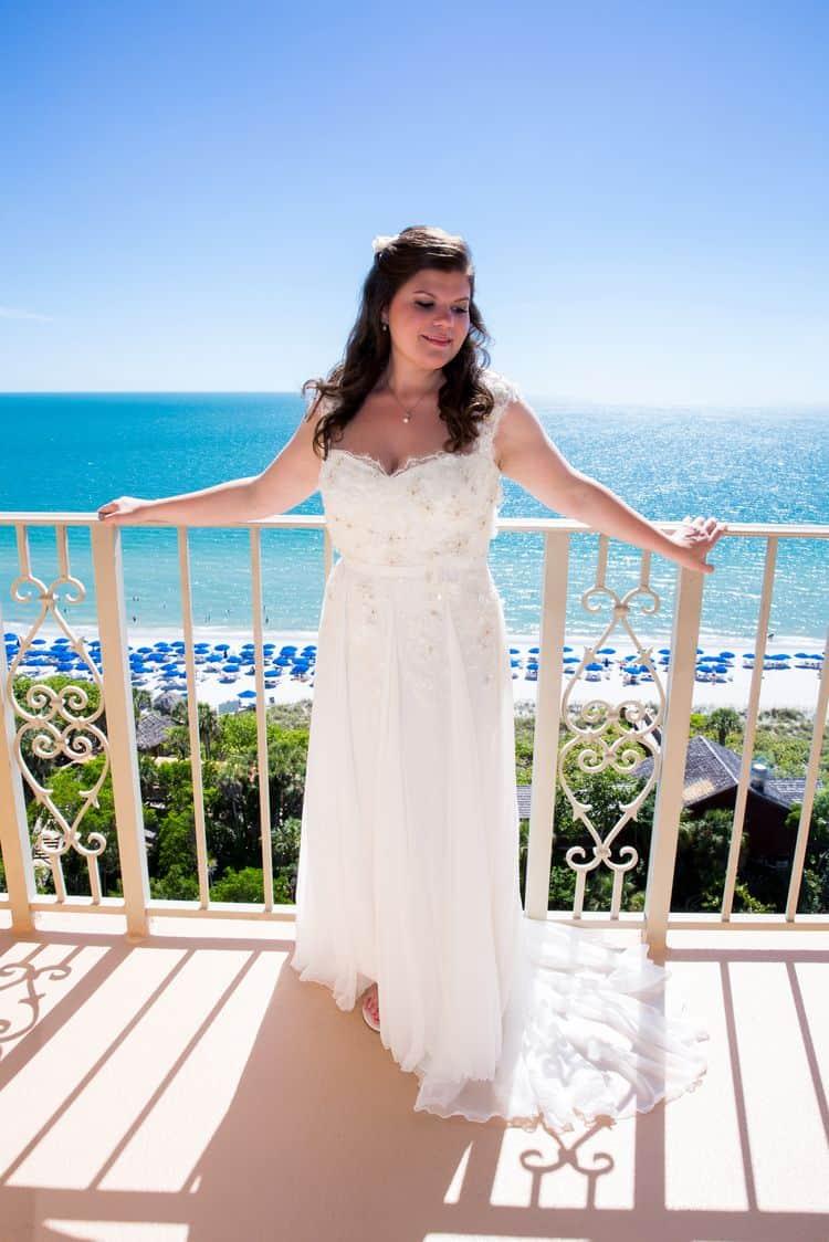 beach destination wedding in naples florida