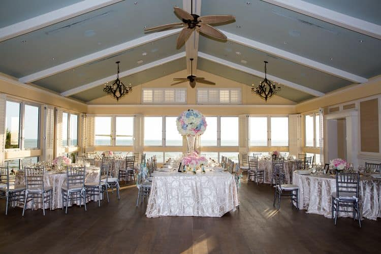 wedding reception at the beach house at the Ritz Carlton in Naples, Florida