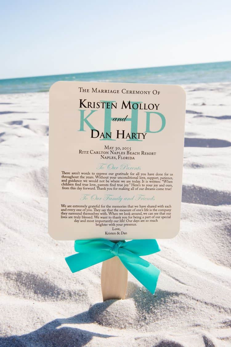 personalized destination wedding programs
