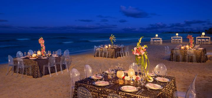 Now Jade Riviera Cancun Destination Weddings reception