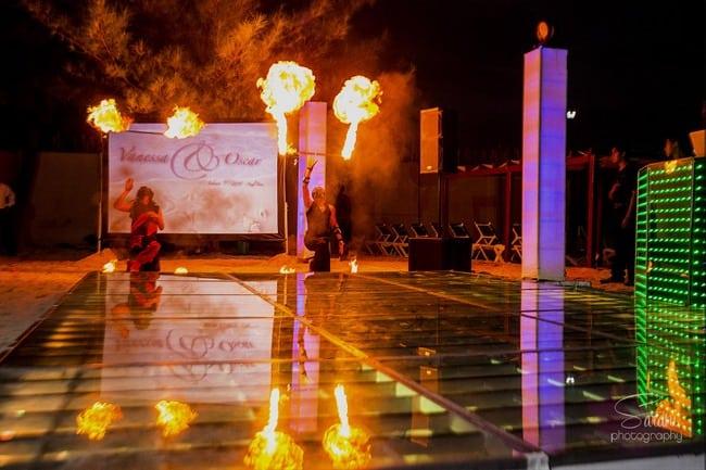 Destination wedding in Azul Fives Playa del Carmen