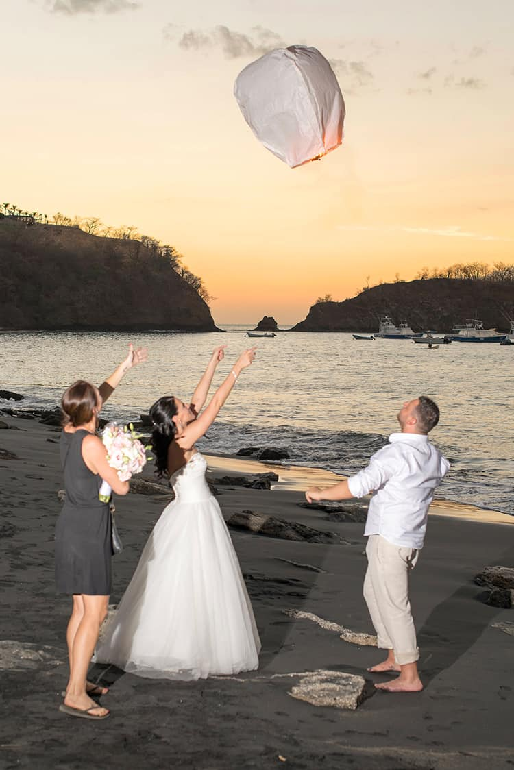 Playa Ocotal Destination Wedding