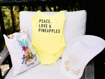 Fun Poolside Bachelorette Party Inspiration Shoot