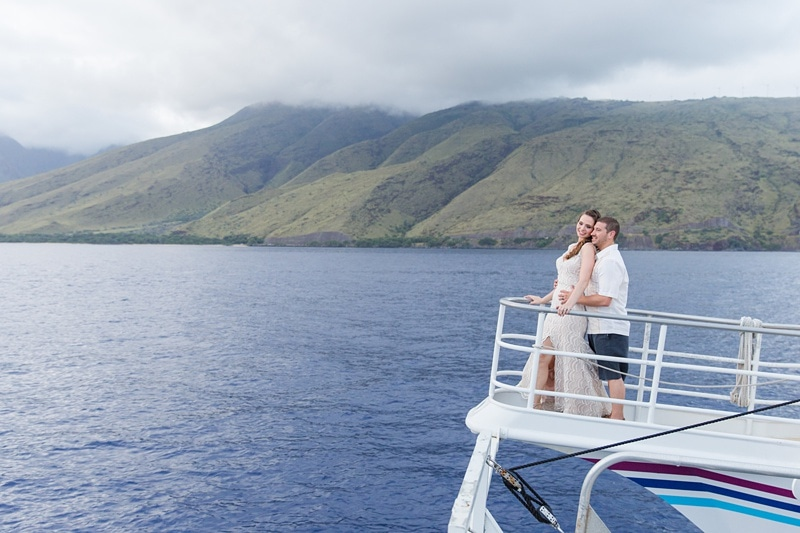 Pride of maui catamaran wedding 0040
