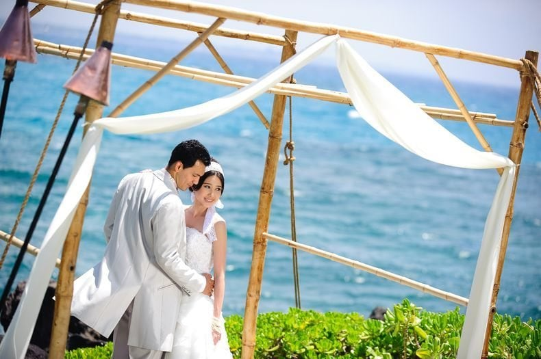 Prince Resorts Hawaii Mauna Kea Beach Hotel wedding