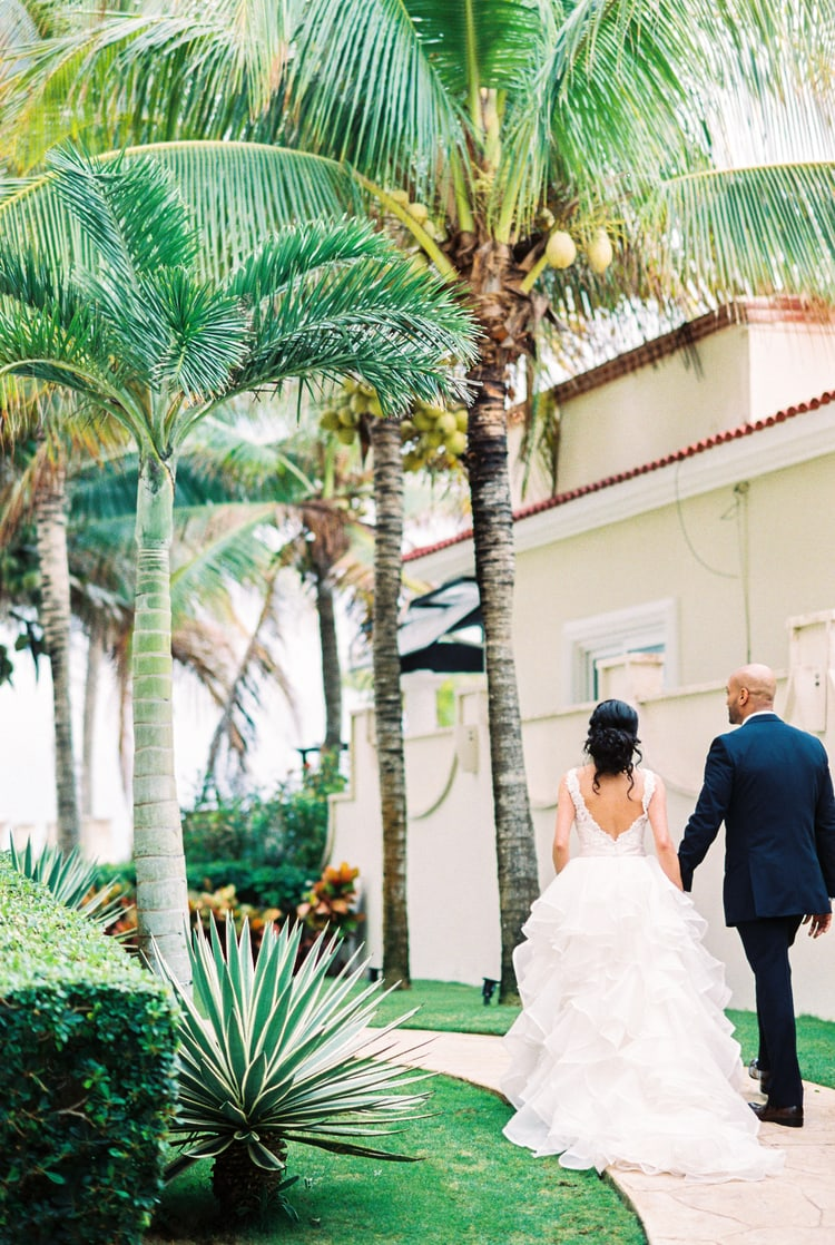 Private Oceanside destination wedding in riviera maya 114