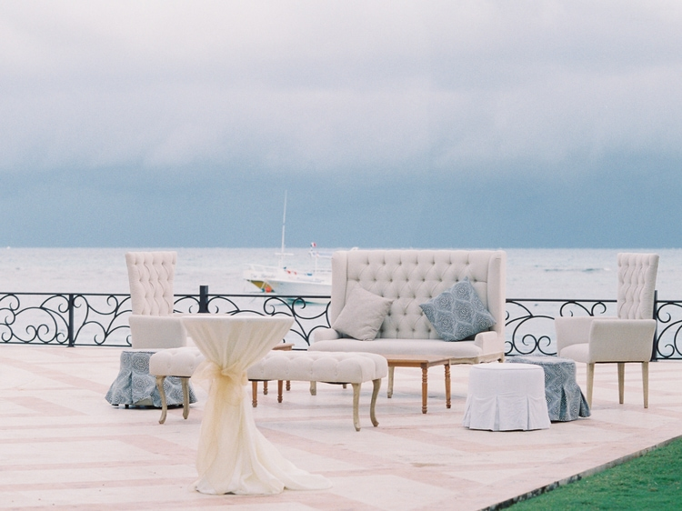 Private Oceanside destination wedding in riviera maya 63