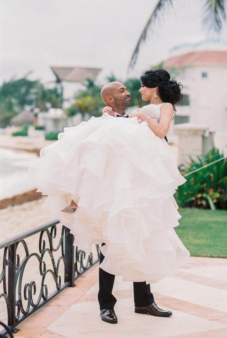 Private Oceanside destination wedding in riviera maya 90 Copy
