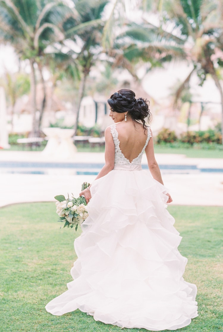 Private Oceanside destination wedding in riviera maya 91
