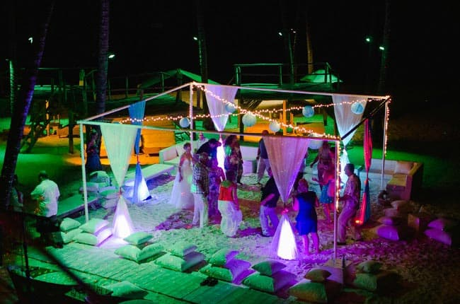beach wedding in Punta Cana