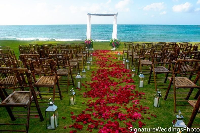 Round Hill jamaica weddings