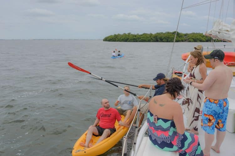 sailboat wedding in Key West