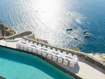 Destination Wedding in Santorini with Spectacular Views