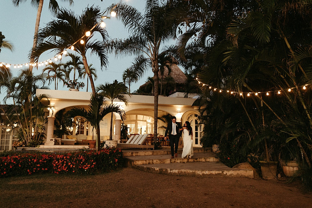 Sayulita Villa Evening Wedding Reception