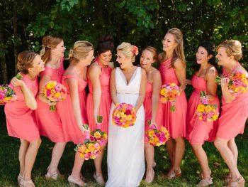 Bright & Colorful Seabrook Destination Wedding
