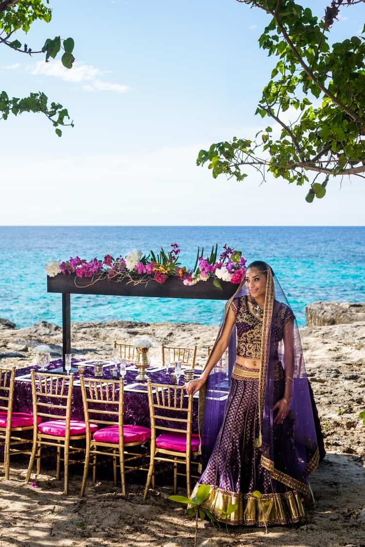 South Asian destination Wedding Borghinvilla 16