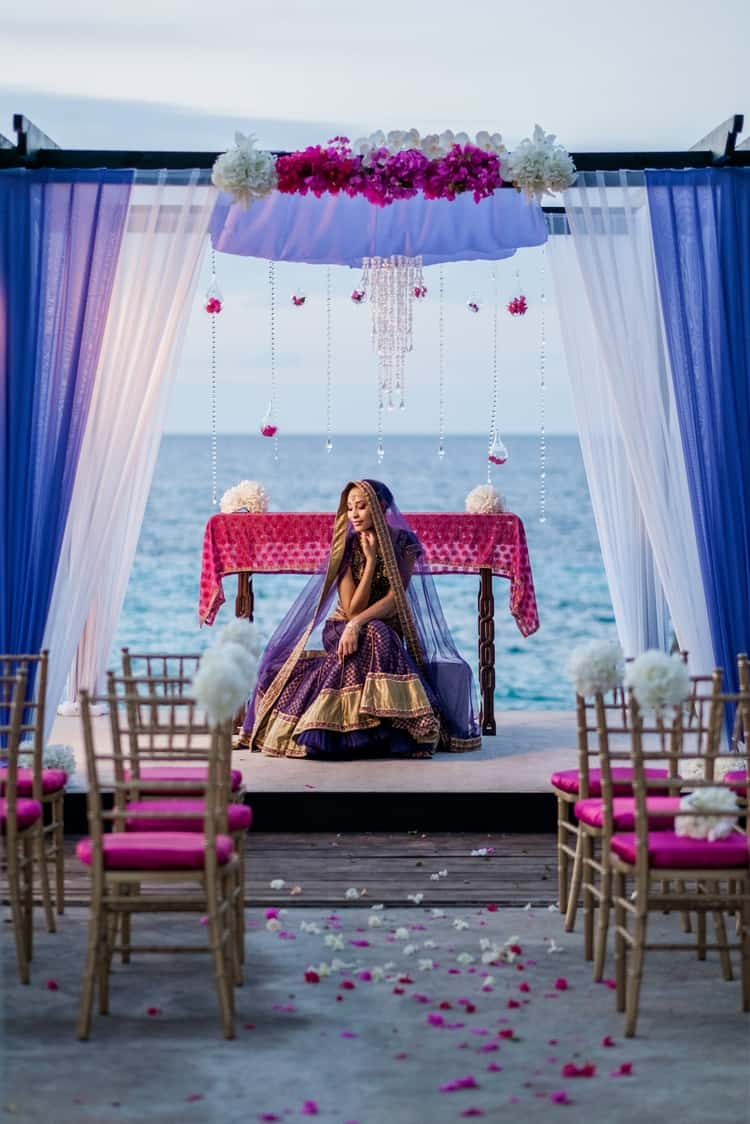 South Asian destination Wedding Borghinvilla 4