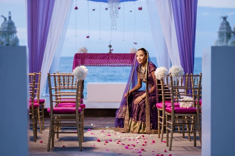 South Asian destination Wedding Borghinvilla 5
