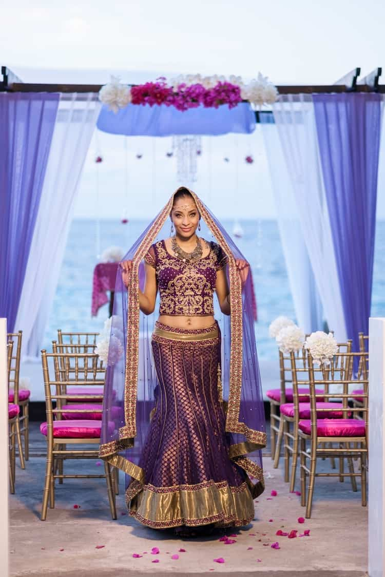 South Asian destination Wedding Borghinvilla 6