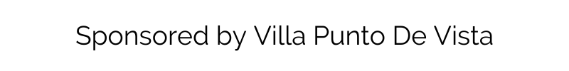 Sponsored by Villa Punto De Vista