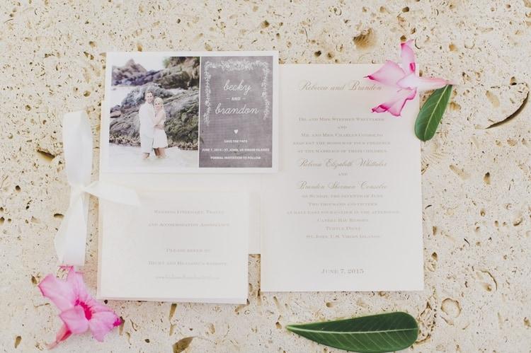 elegant destination wedding in St John
