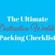 The Ultimate Destination Wedding Packing checklist