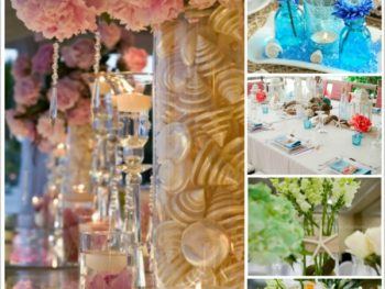 best destination wedding centerpieces