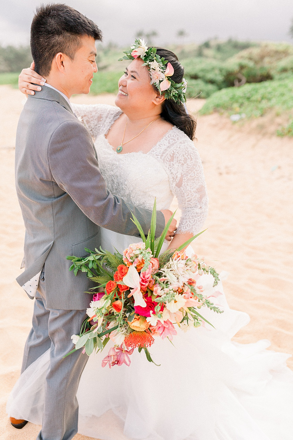 Tropical Beach Wedding Photos