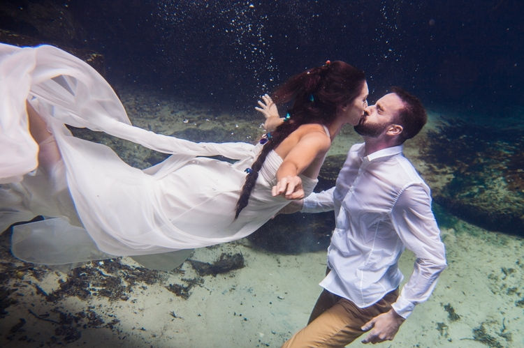 Underwater Wedding Photography 10