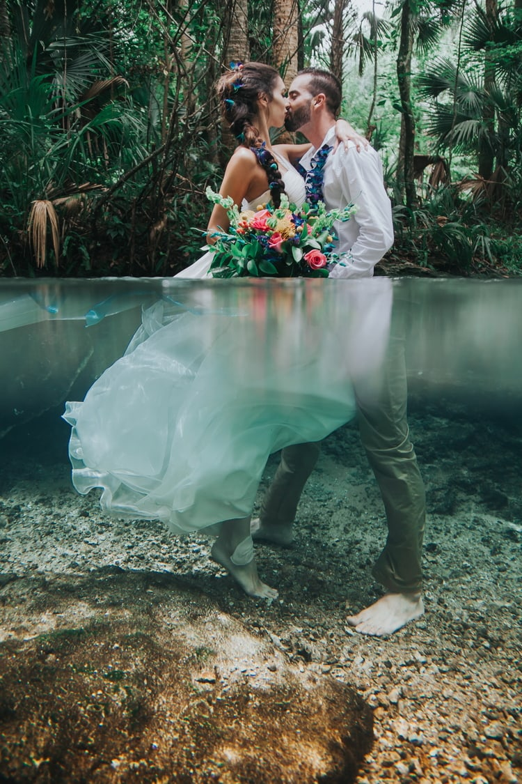 Underwater Wedding Photography 12