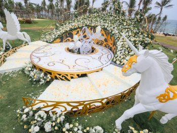 Extravagant Unicorn Themed Wedding