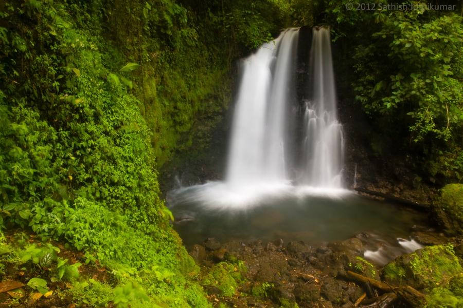 Unique costa rica wedding destination waterfall