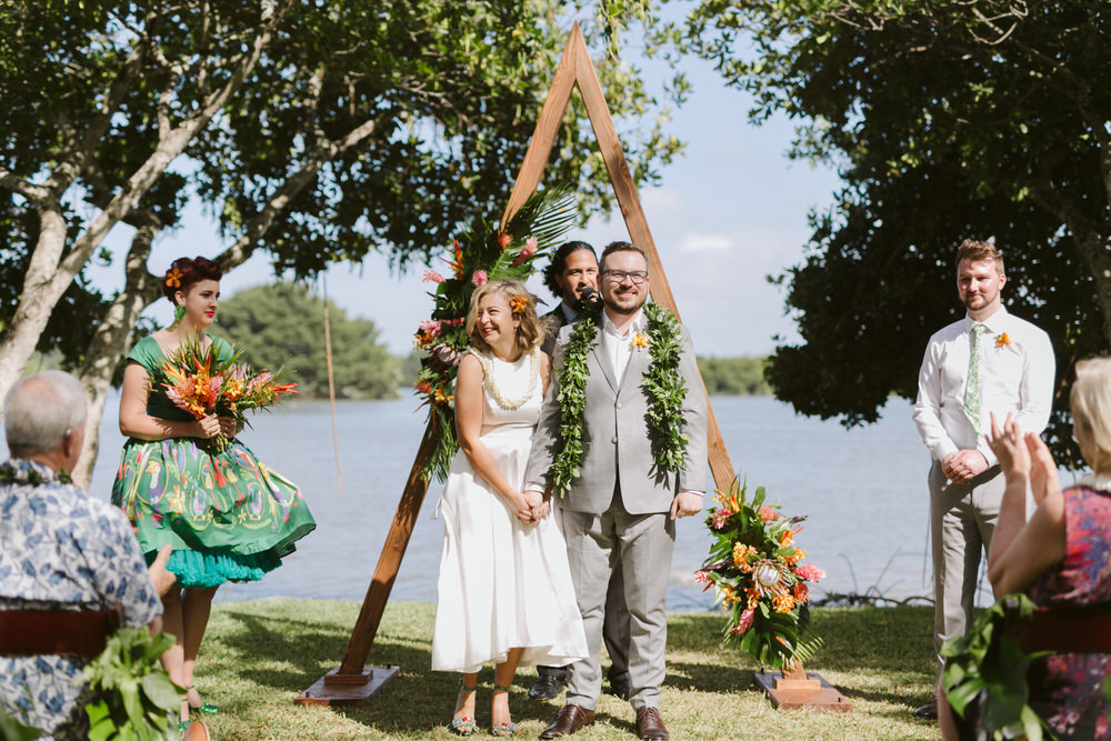 Wedding Ceremony in Hawaii
