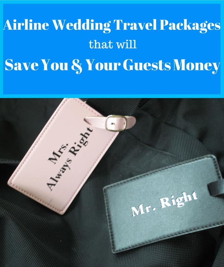 Wedding Travel Packages that will Save you money
