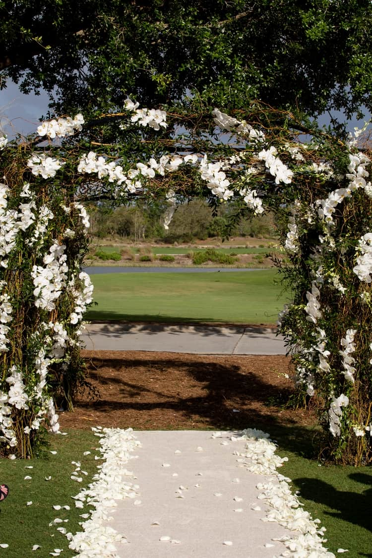 Wedding at Naples Ritz Carlton Golf Resort