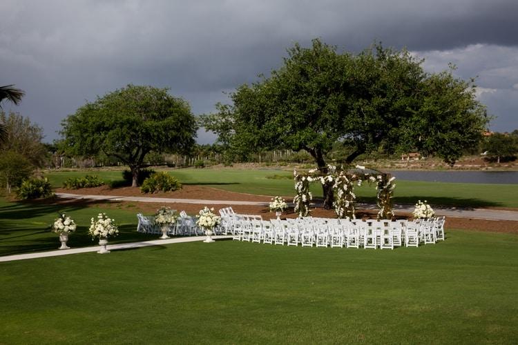 Wedding at Naples Ritz Carlton Golf Resort 86