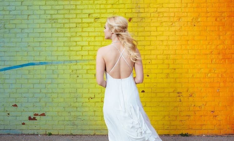 Wedding inspiration on the Brooklyn Bridge12