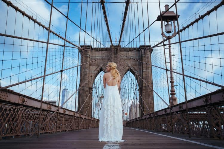 Wedding inspiration on the Brooklyn Bridge17