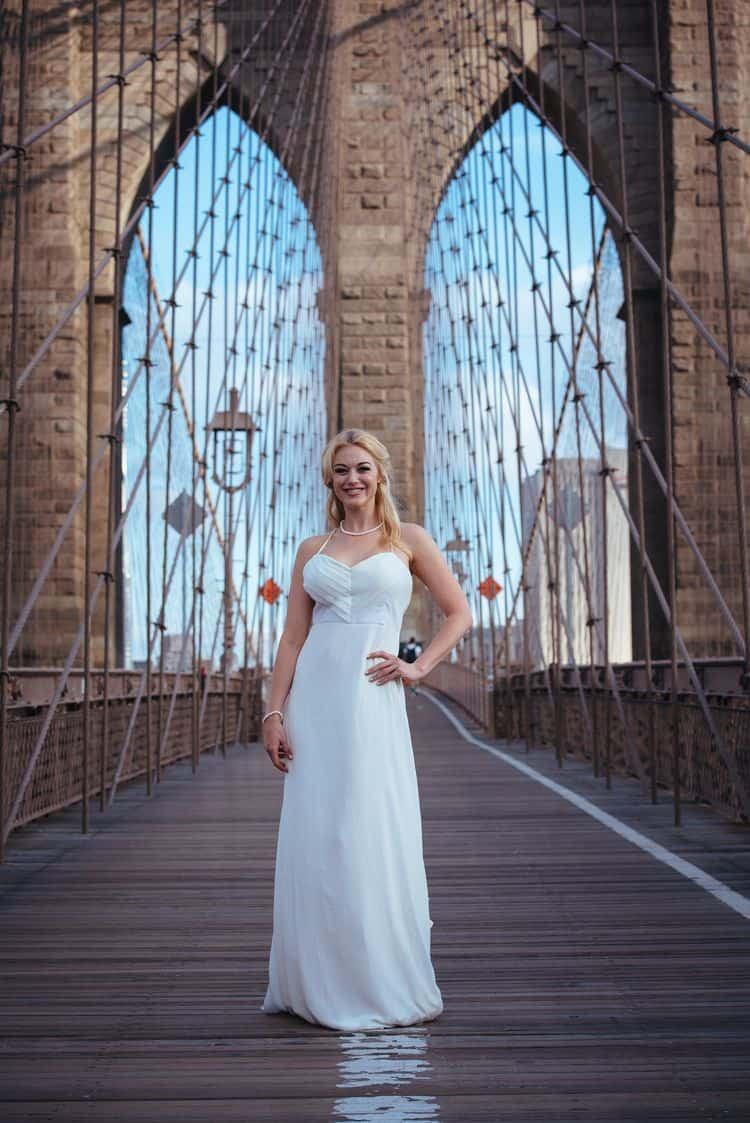 Wedding inspiration on the Brooklyn Bridge19