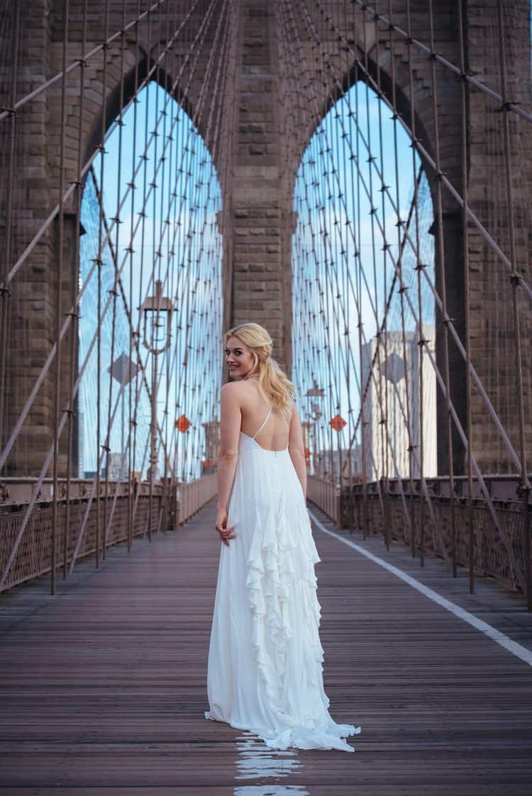 Wedding inspiration on the Brooklyn Bridge20