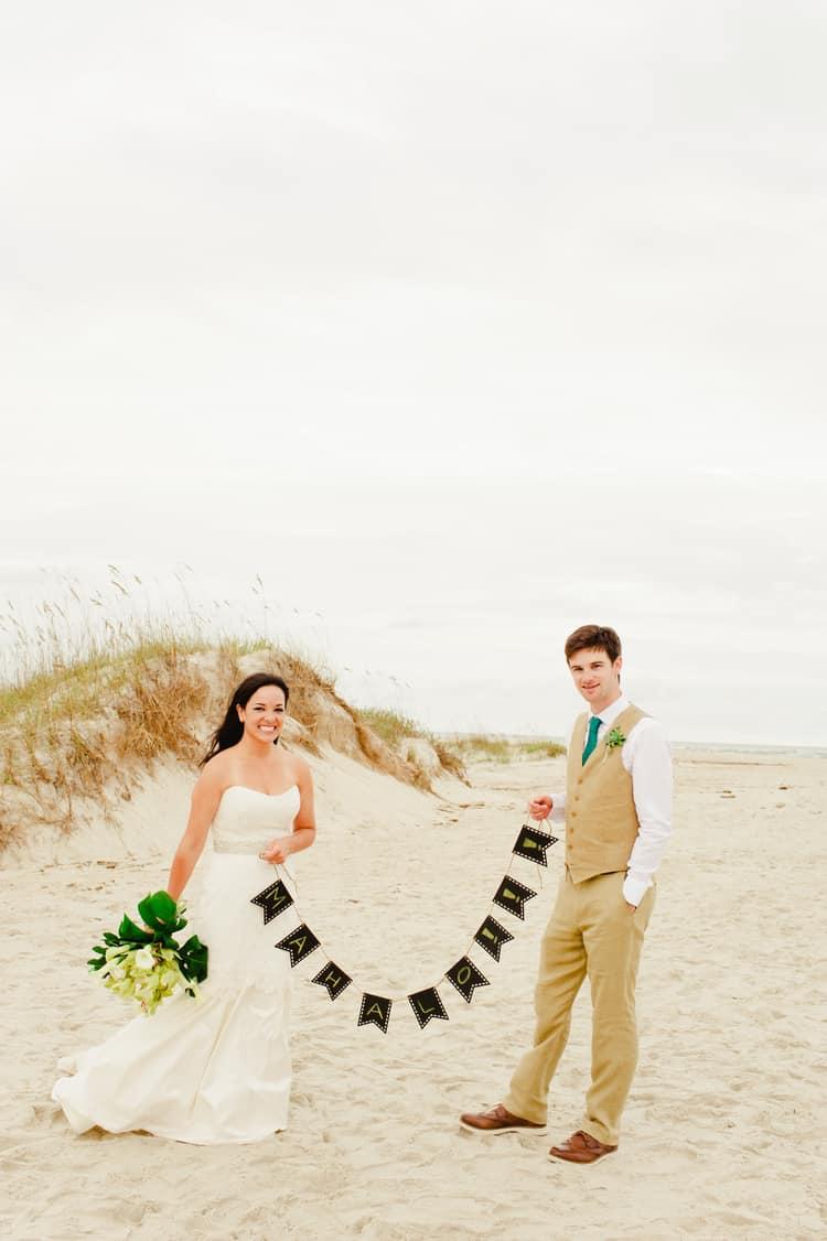 wedding on bald head island
