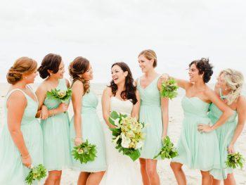 Modern Coastal Wedding on Bald Head Island