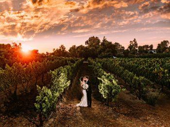 Chic Winery Destination Wedding