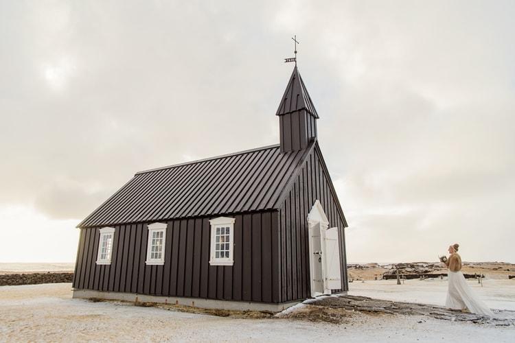 Winter Iceland Destination Wedding 107