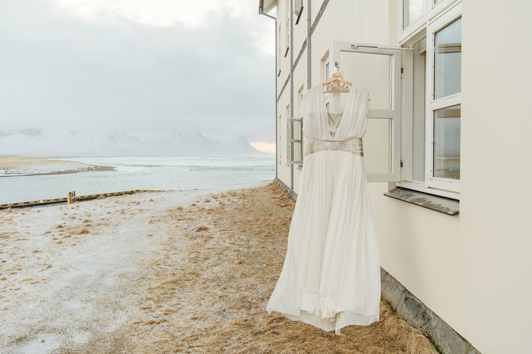 Winter Iceland Destination Wedding 113