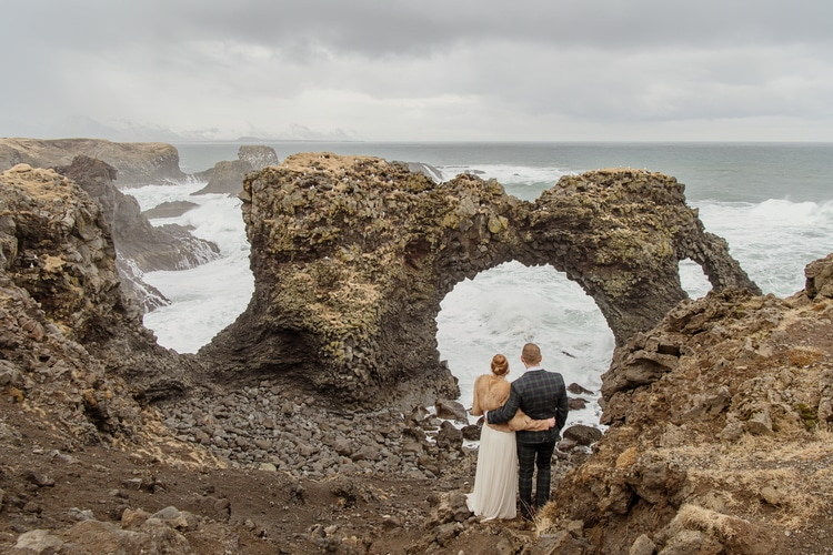 Winter Iceland Destination Wedding 17