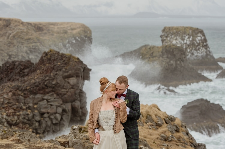 Winter Iceland Destination Wedding 20