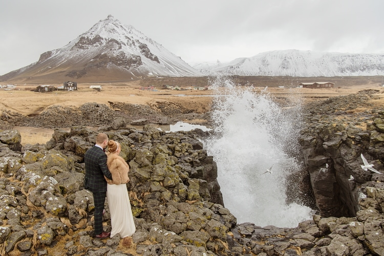Winter Iceland Destination Wedding 23