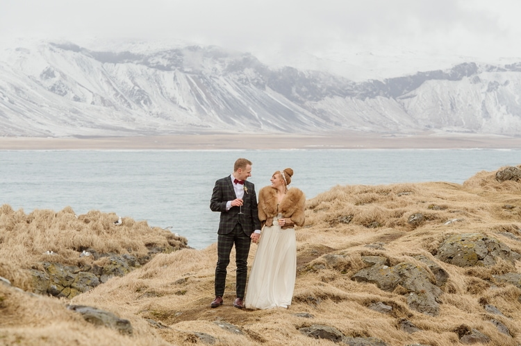Winter Iceland Destination Wedding 25