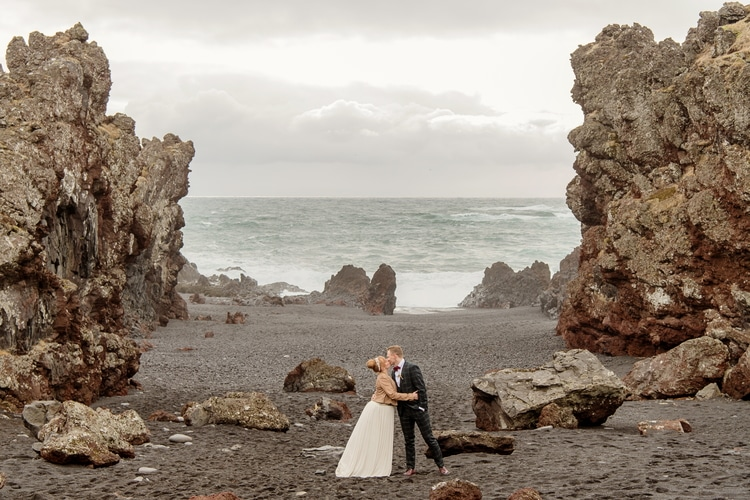 Winter Iceland Destination Wedding 33